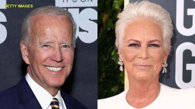 Jamie Lee Curtis says Joe Biden should 'apologize' to Anita Hill's face