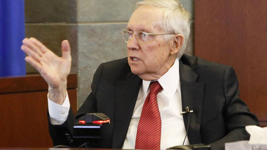 Former Sen. Harry Reid says exercise device caused career-ending injuries; device maker disputes claims