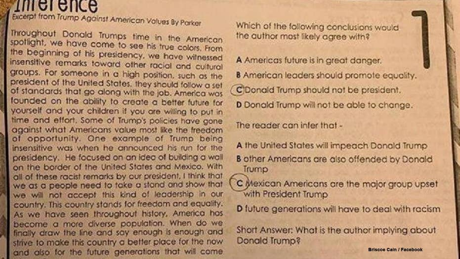 Trump Related School Assignment Prompts Anger Death Threats
