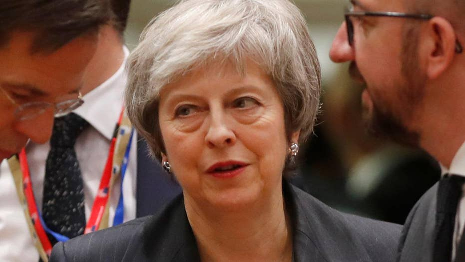 Theresa May's Brexit deal suffers third defeat in British Parliament