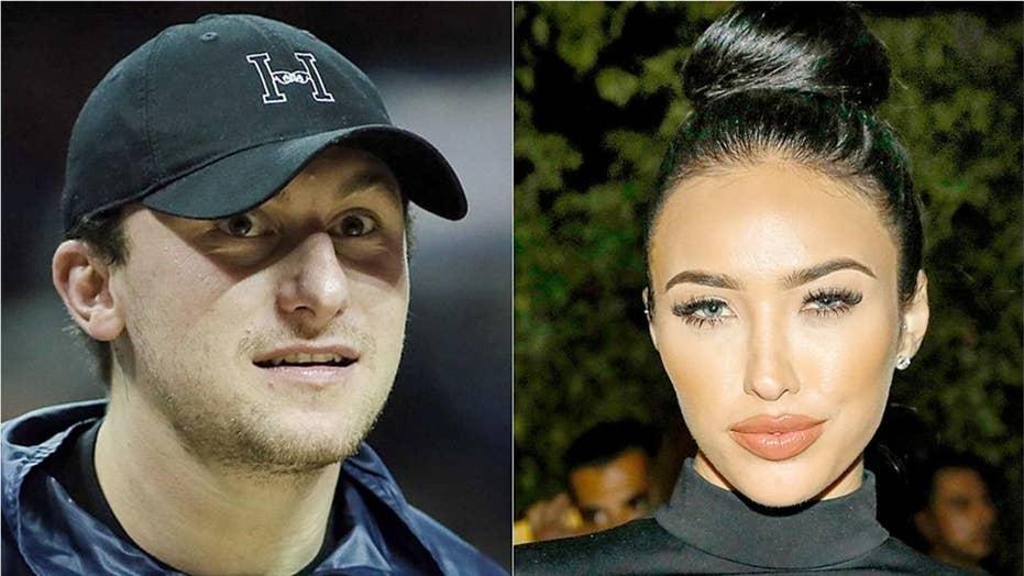 Johnny Manziel 'Very sad' over split with Instagram model wife