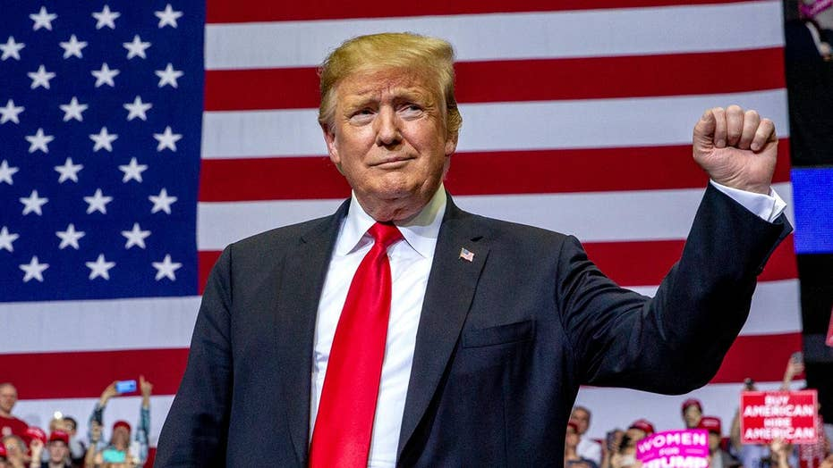 President Trump uses Mueller report to springboard into 2020 re-election campaign