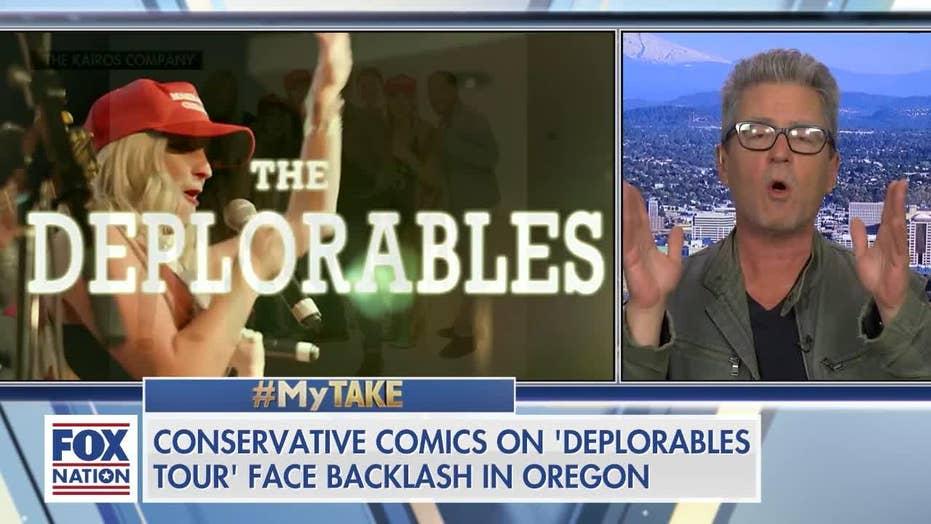 'Deplorables' Comedy Tour Faces Backlash in Portland