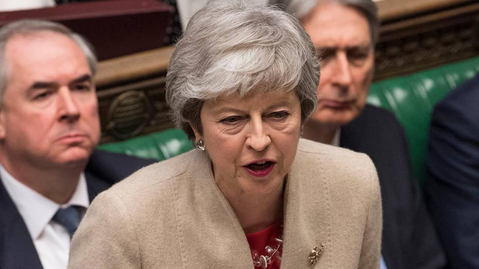 Theresa May's Brexit deal defeated by Britain's House of Commons for third time