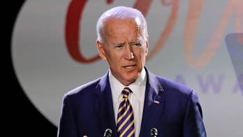 Liz Peek: Biden accused of unwanted kiss, may have kissed his chance for Dem nomination goodbye