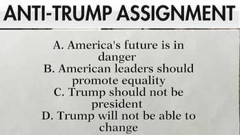 Parents outraged over students' anti-Trump homework assignment