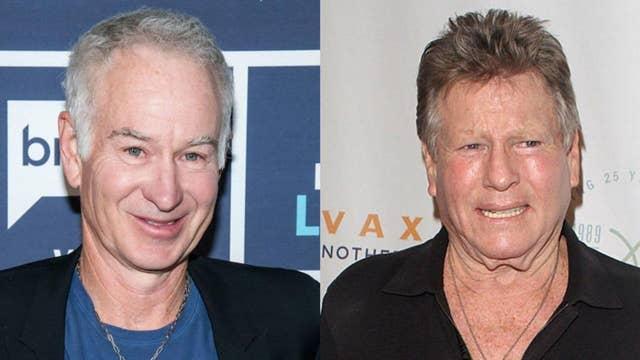 John McEnroe blasts ex-father-in-law Ryan O'Neal