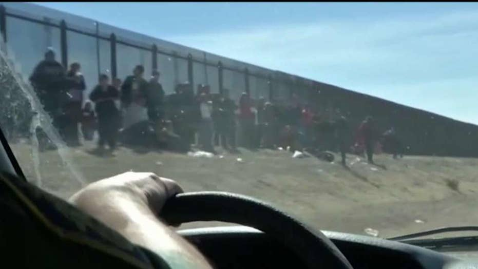 Latest migrant surge forces border patrol to 'catch and release'