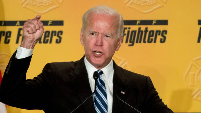 Joe Biden accused of kissing woman without her consent