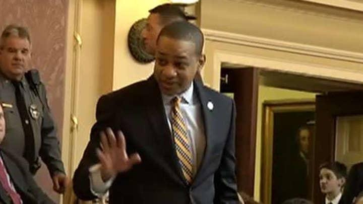 Virginia Lieutenant Governor Fairfax takes polygraph test