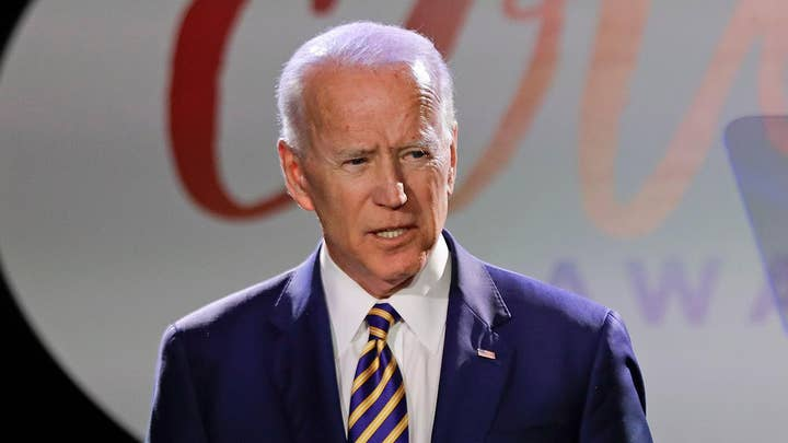Joe Biden responds to allegations that he acted inappropriately towards a Nevada politician