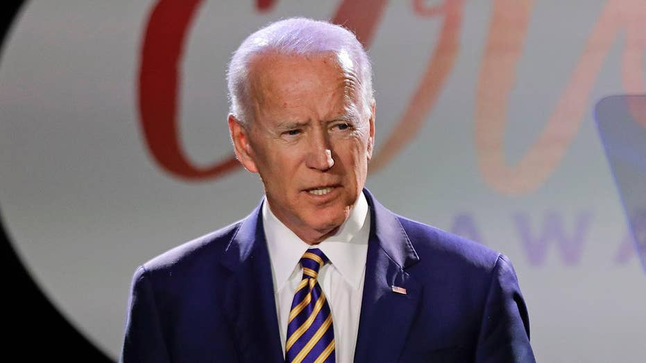 Joe Biden responds to allegations that he acted inappropriately toward a Nevada politician