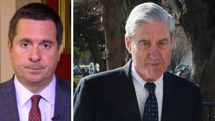 Devin Nunes calls for the release of the Mueller report's 'underlying information'