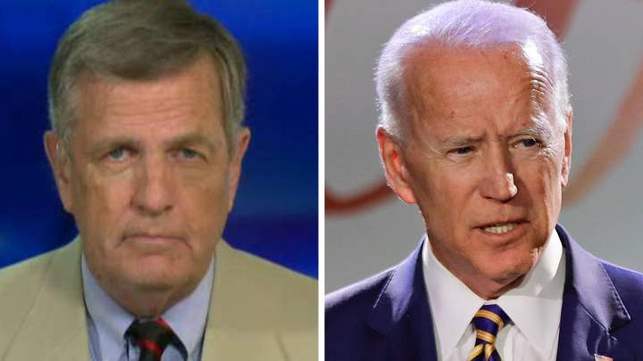 Brit Hume: Joe Biden's 'touchy-feely' nature may be a political liability in the MeToo era