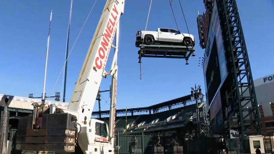 General Motors swaps out Mexican-made Blazer with the made-in-USA Traverse at Comerica Park