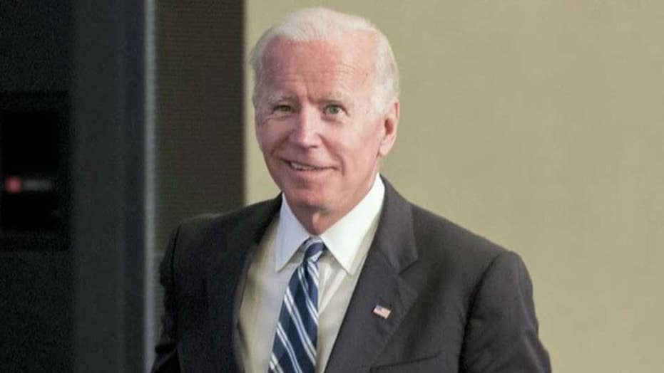 Biden's past interactions with women being reexamined after #MeToo movement