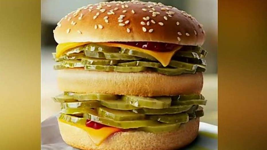 McDonald's Australia unveils McPickle burger for April Fools' Day