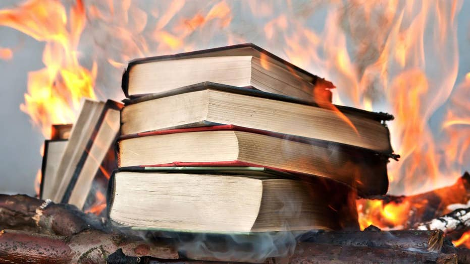 Polish priests carried out a book burning that including some from the 'Harry Potter' series