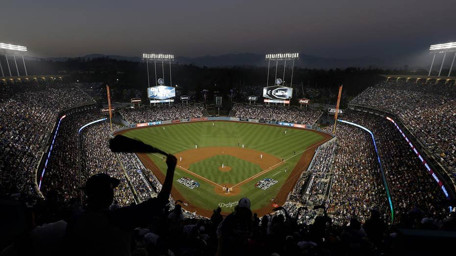 Baseball fan on life support after fracturing skull in fight in parking lot of Dodger Stadium