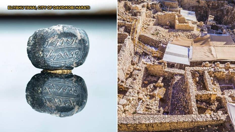 Rare ancient treasures bearing Biblical names discovered in Jerusalem's City of David