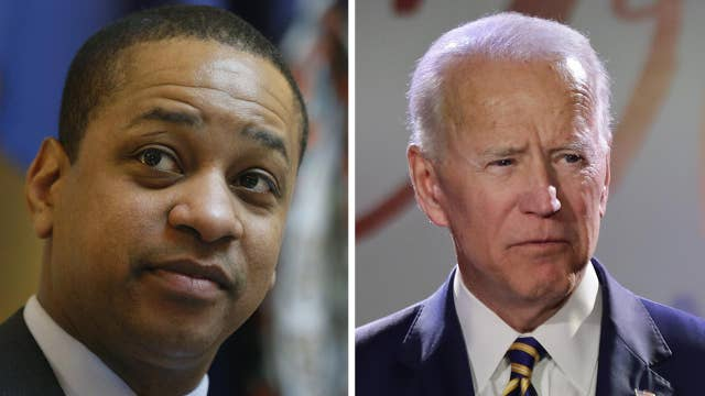 How should Democrats handle the accusations against Fairfax and Biden?