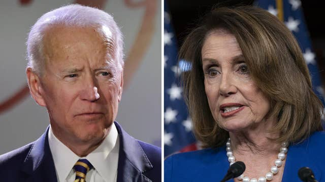 Pelosi says allegations of inappropriate touching do not disqualify Joe Biden from being president