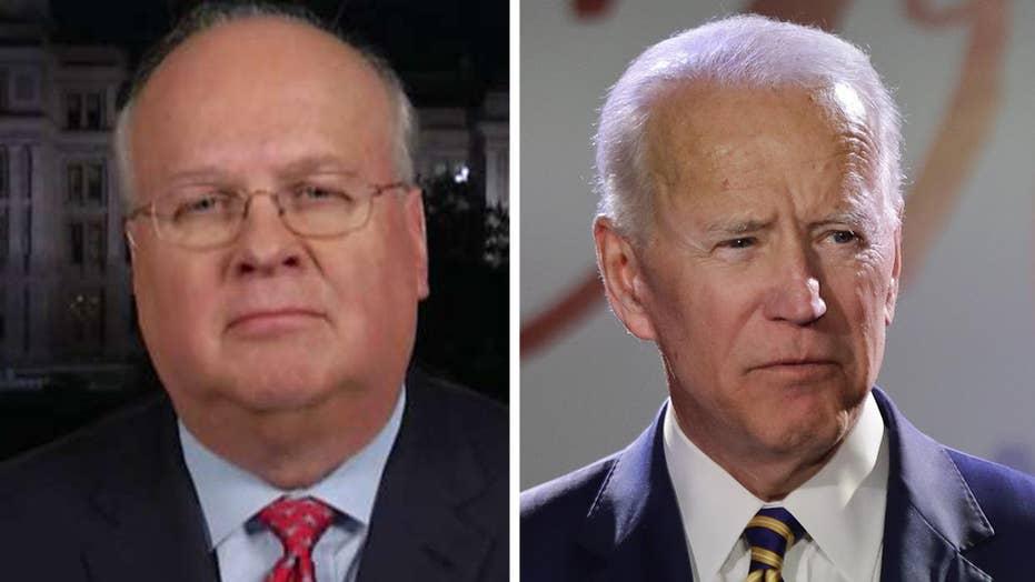 Rove: Biden has always been known as a hugger, kisser