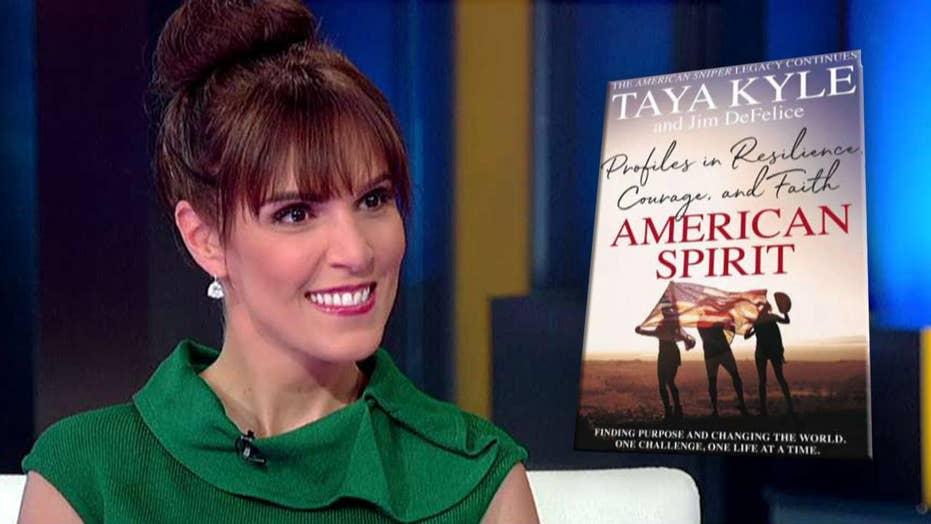 Taya Kyle profiles America's everyday heroes in new book 'American Spirit'