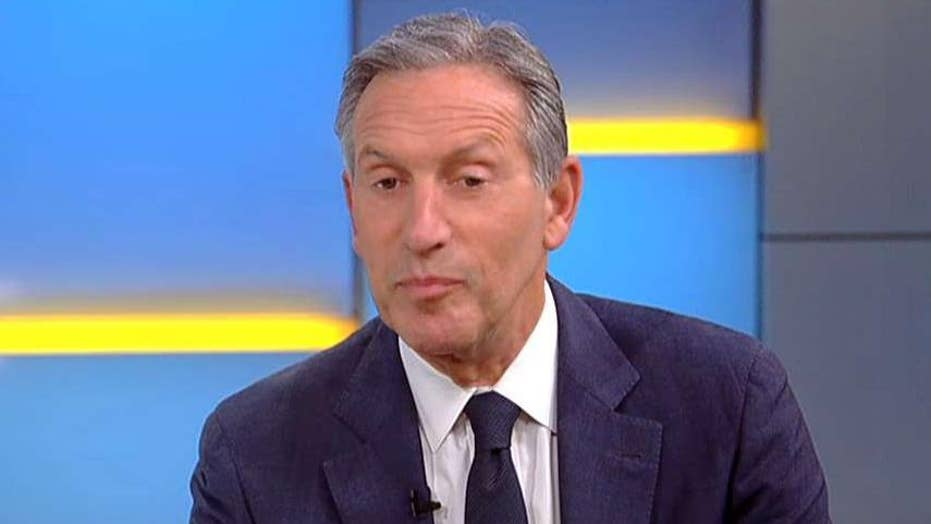 Howard Schultz: We can't have a country where millions of people are being left behind