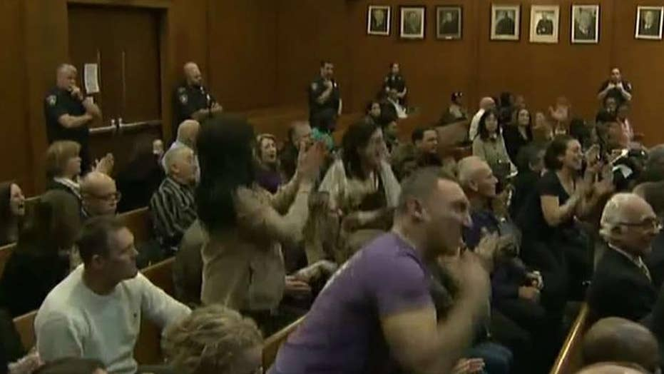 Courtroom erupts in cheers after man is found guilty of murdering NYC jogger
