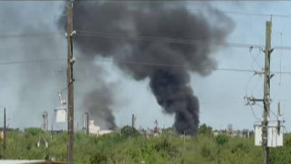 Reports: At least 1 killed, 2 injured as chemical plant fire burns in Texas
