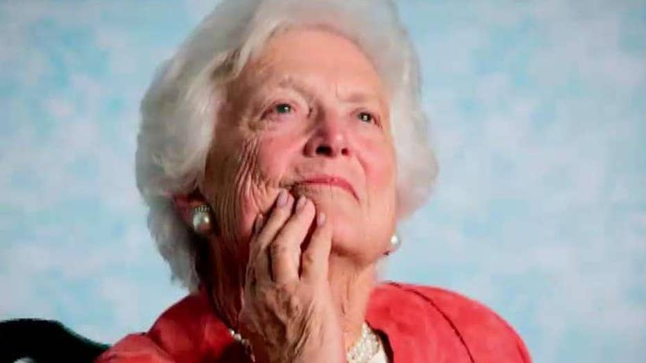 New book details life of first lady Barbara Bush