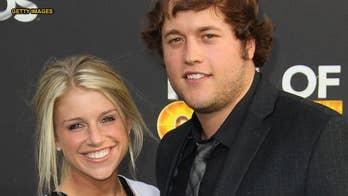 Detroit Lions QB Matthew Stafford's wife announces she has brain tumor, will undergo surgery