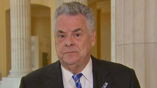 Rep. Peter King says the Democrats are engaging in 'political theater'