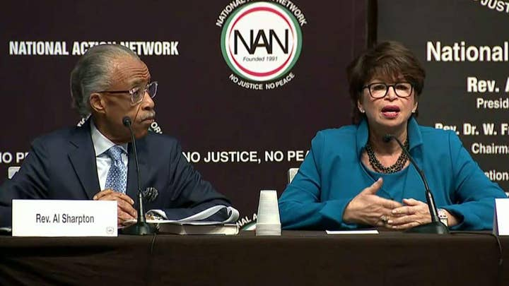 2020 Democratic presidential candidates speak at the National Action Network Convention