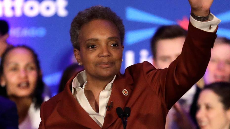 Lori Lightfoot wins Chicago mayoral race, to become city's first