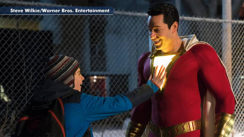 'Shazam!' stars talks superheroes, catchphrases and new movie