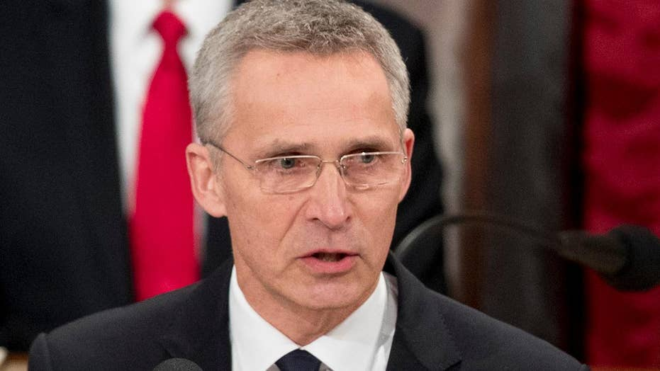 NATO chief says Trump's push for more defense spending from allies is working
