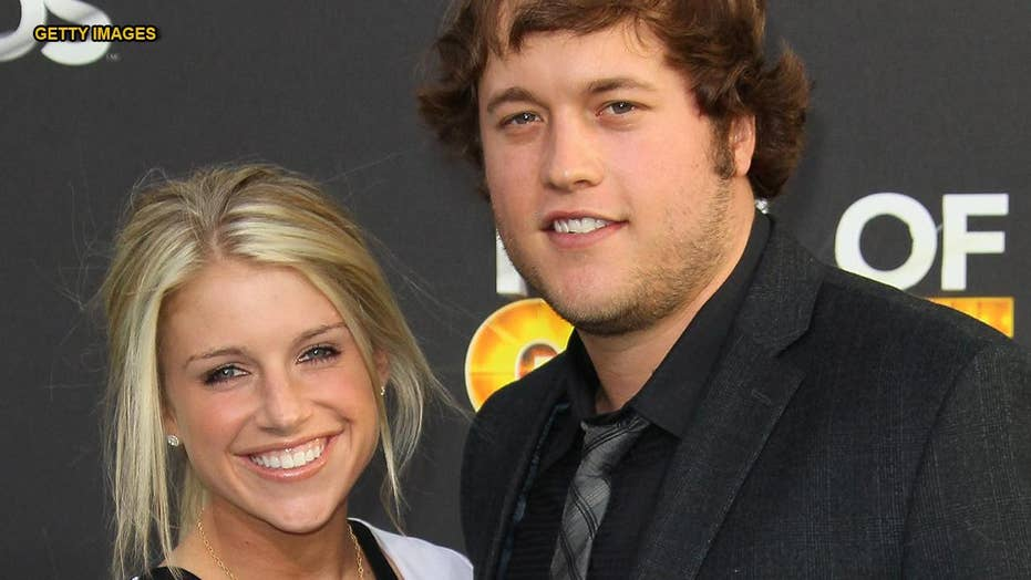 Detroit Lions QB Matthew Stafford's wife announces she has brain tumor, will undergo surgery