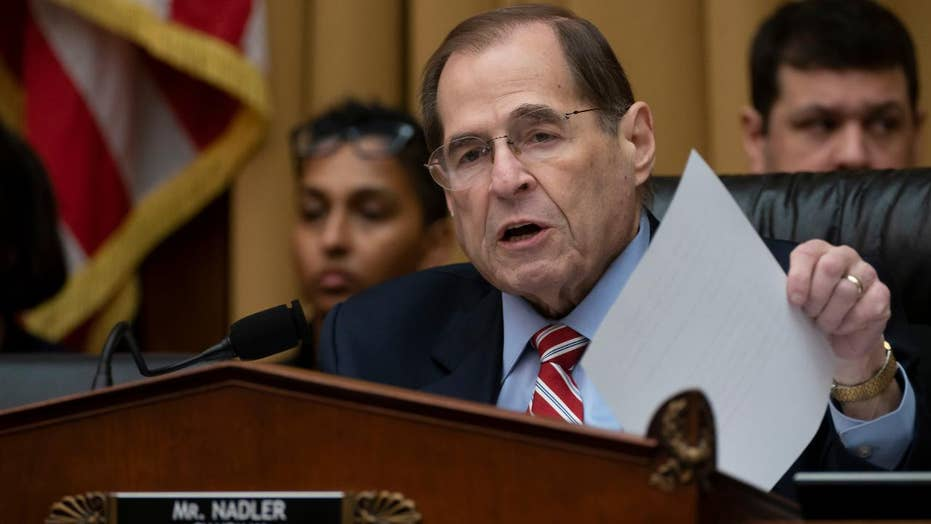 Jerry Nadler says he will give Attorney General Barr 'time to change his mind' before issuing subpoenas