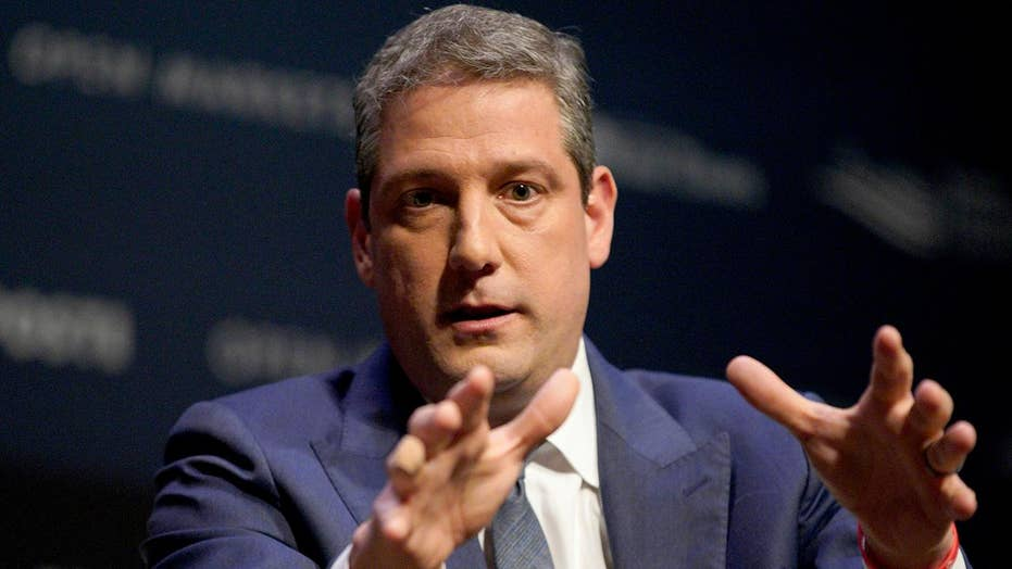 Ohio Representative Tim Ryan expected to enter the crowded Democratic field of presidential contenders