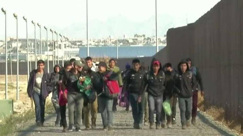 DHS Secretary Kirstjen Nielsen tours overwhelmed El Paso border sector
