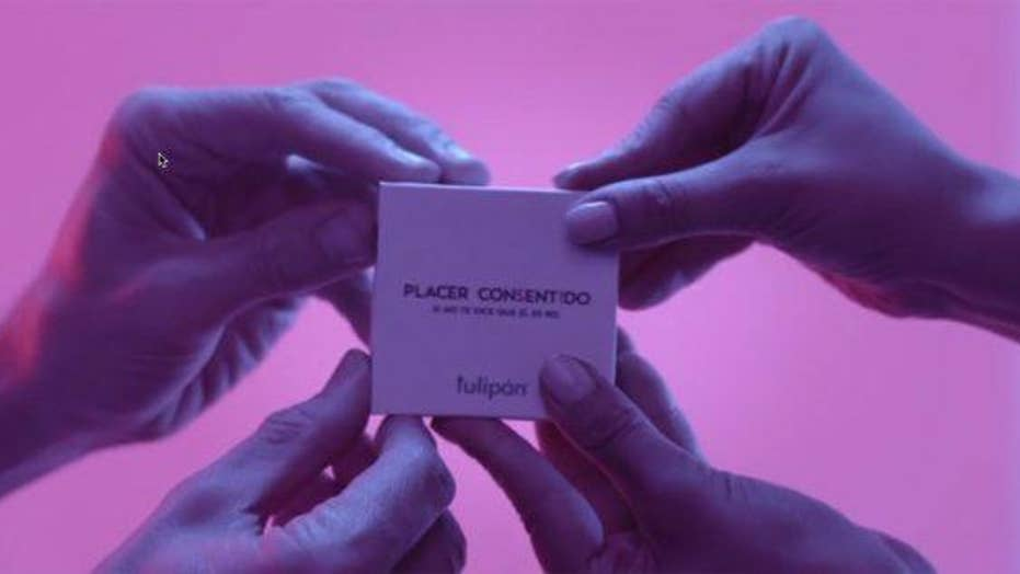New 'consent condom' requires both people to open it