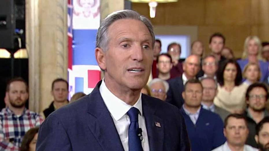 Howard Schultz: I can promise you under any circumstances Nancy Pelosi will not give Trump a victory on immigration