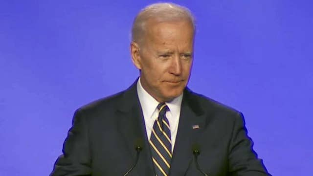 Joe Biden Makes Hugging Joke At First Public Appearance