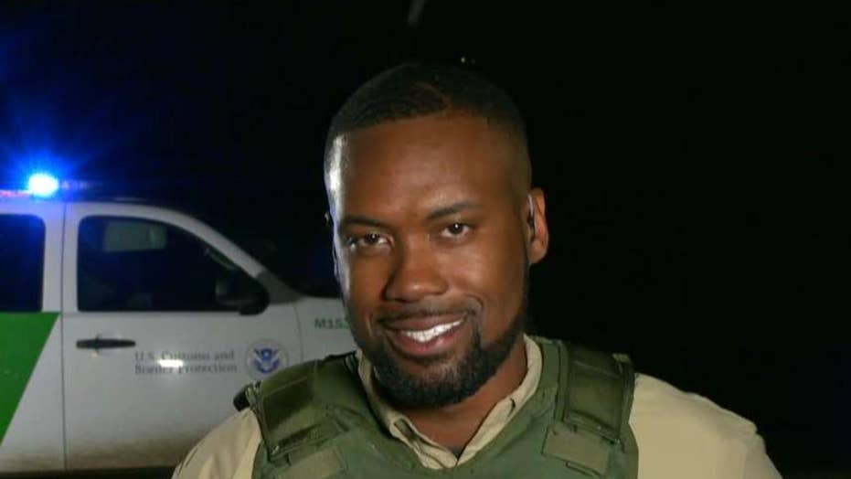 Lawrence Jones gets an inside look at border security efforts in Laredo, Texas