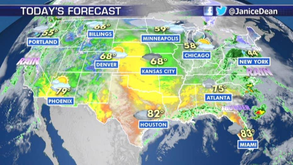 National forecast for Friday, April 5
