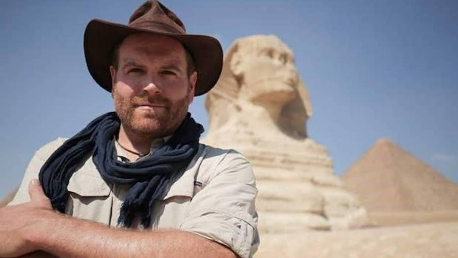 Expedition Unknown' host Josh Gates wants to save Egyptian tourism