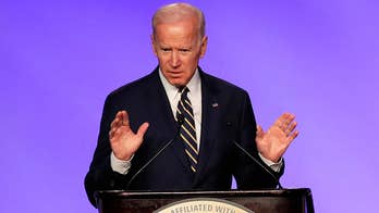 Biden jokes about hugging during first public appearance since allegations surfaced