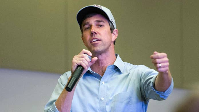 Beto O'Rourke confronted at town hall about stingy charitable donations